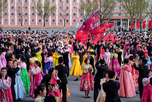 Mass dane Pyongyang