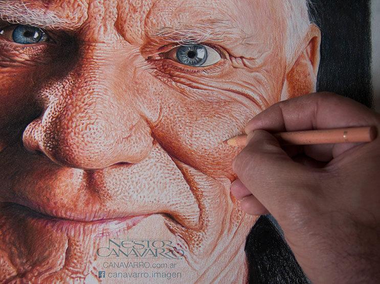 Increíbles retratos pintados a mano por Néstor Canavarro 2 2
