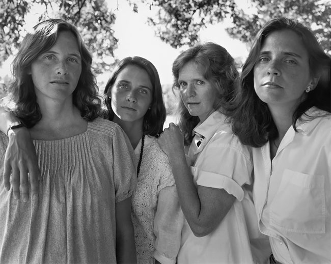 Nicholas Nixon hermanas Brown 10