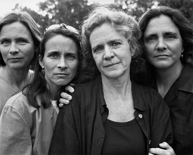 Nicholas Nixon hermanas Brown 24
