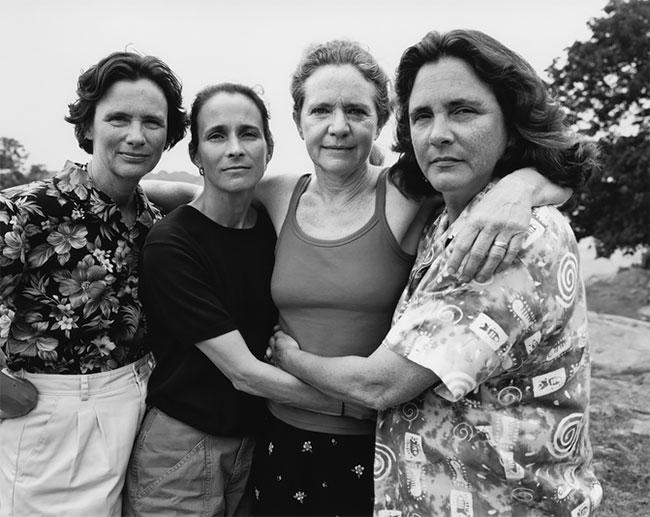 Nicholas Nixon hermanas Brown 27