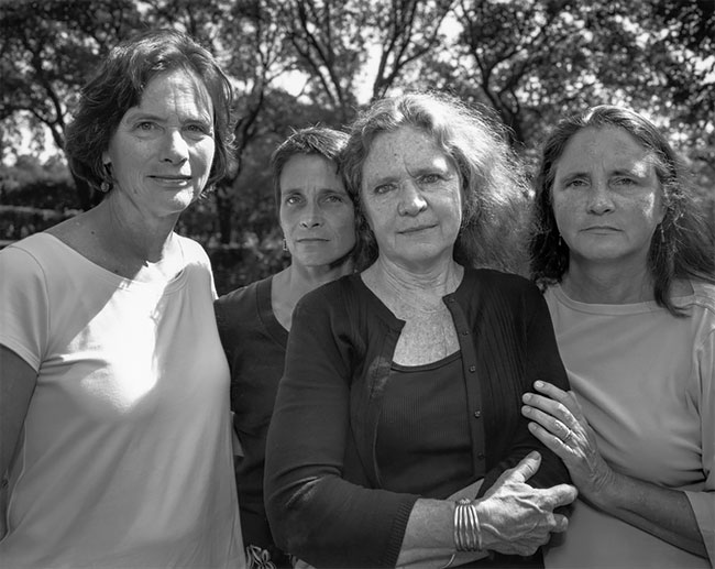 Nicholas Nixon hermanas Brown 33