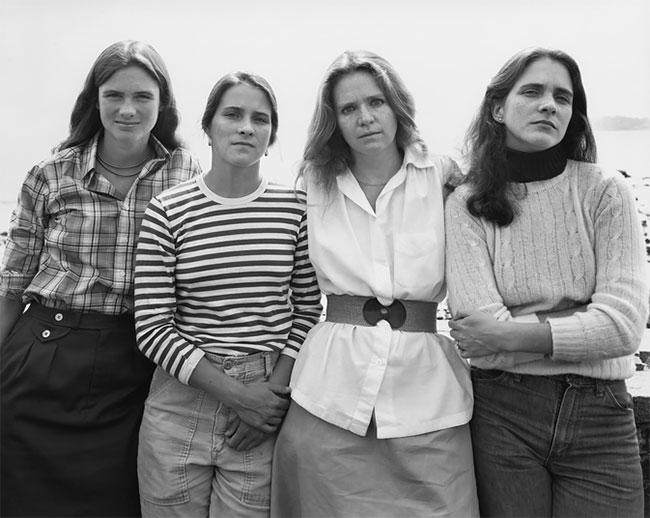 Nicholas Nixon hermanas Brown 4