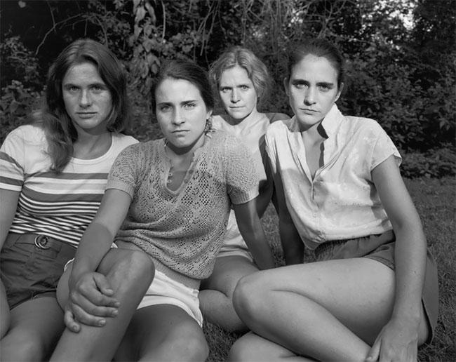Nicholas Nixon hermanas Brown 6