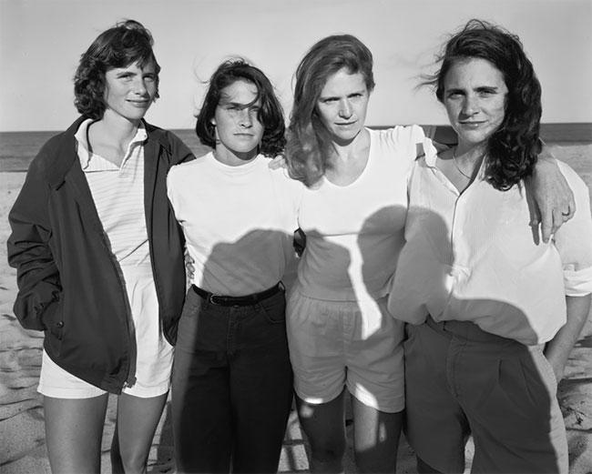Nicholas Nixon hermanas Brown 9