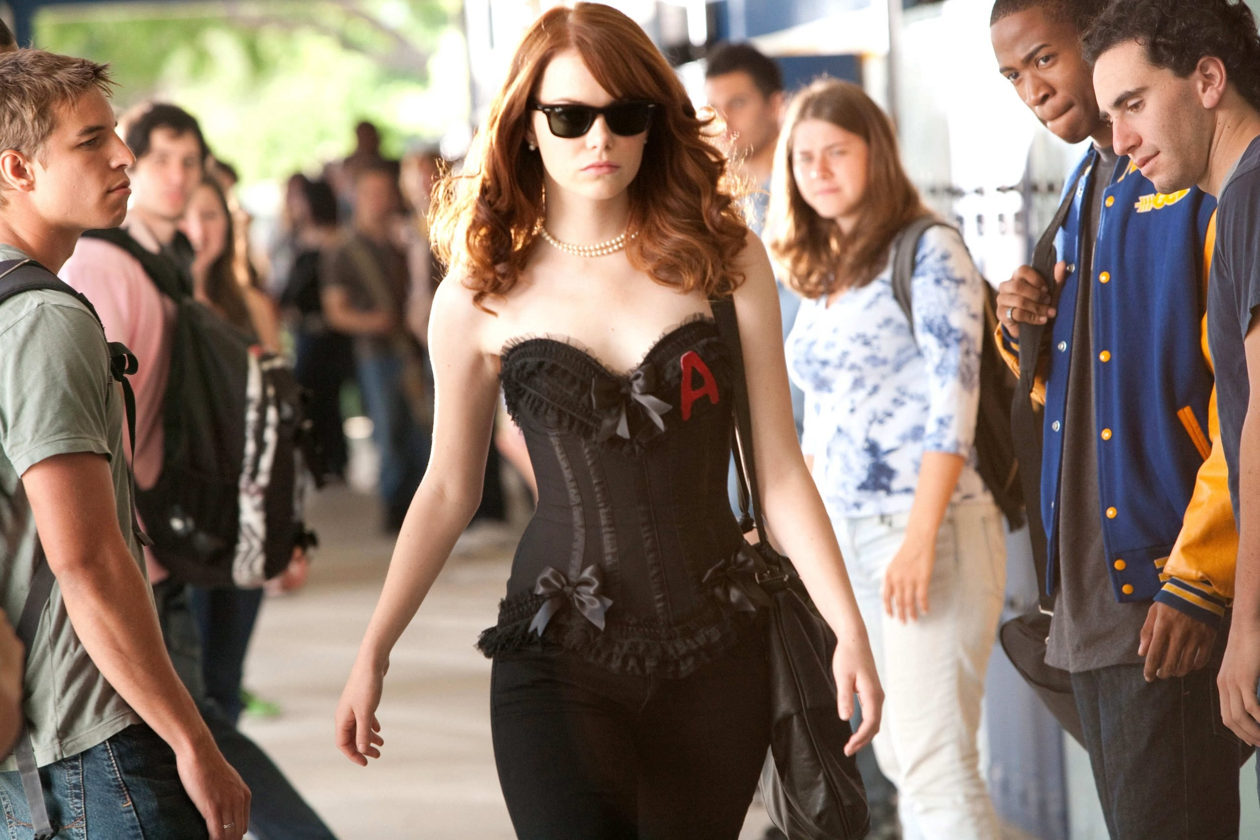 emma stone movies easy a actress wallpaper