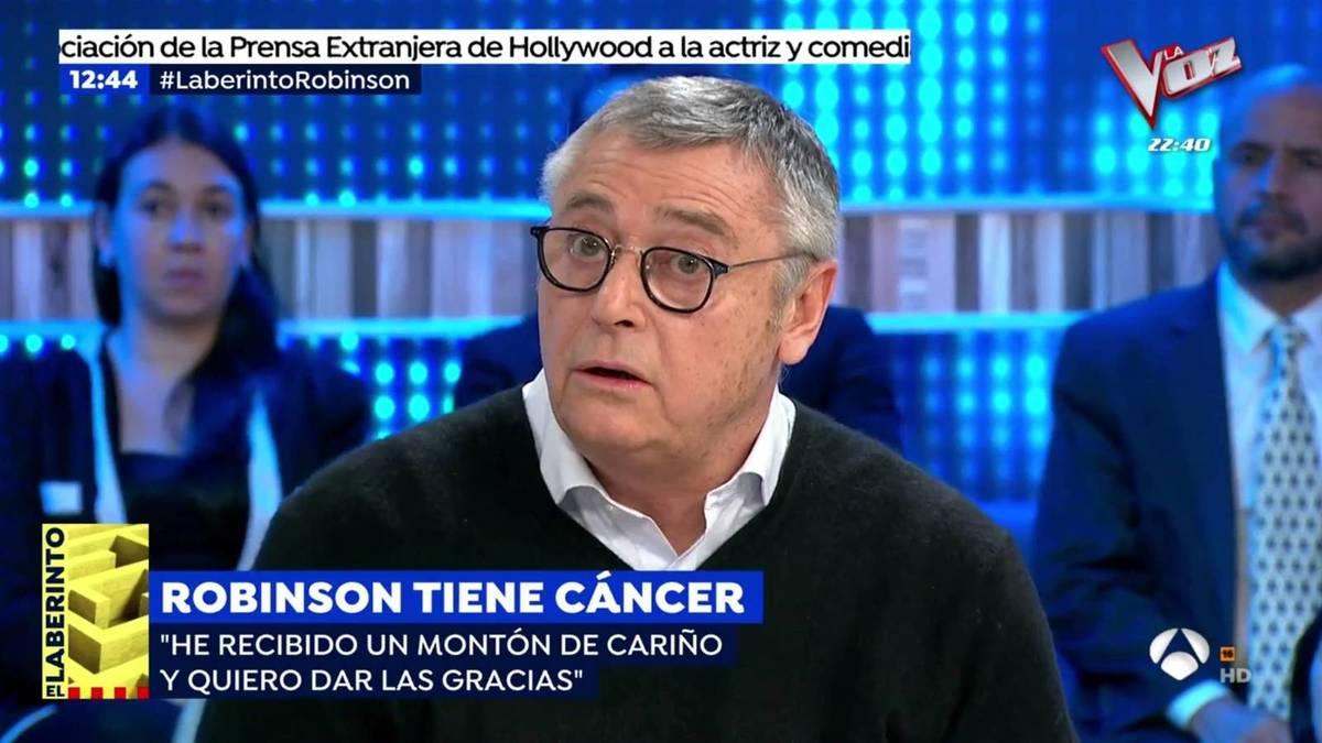 michael robinson sobre su cancer la medicacion cuesta 14000 euros al mes