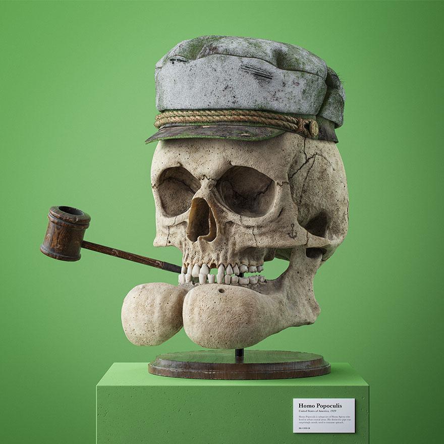 cartoon fossils skulls filip hodass 7 5e60ccc812a4b 880