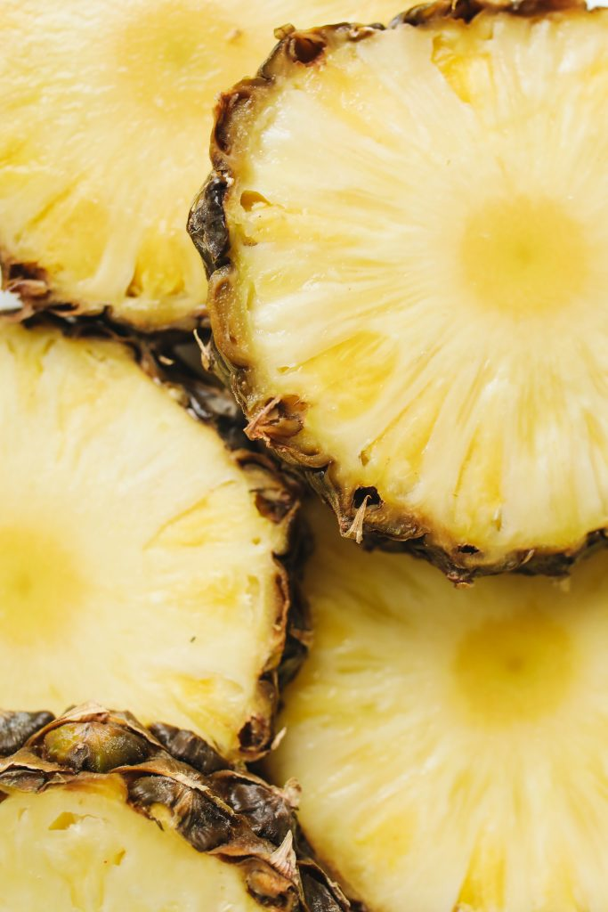 close up photo of sliced pineapple 4110334