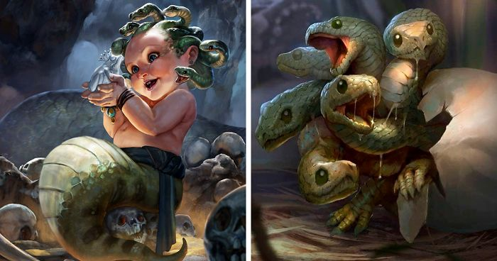 baby bestiary mythical creatures rudy siswanto fb33 png 700