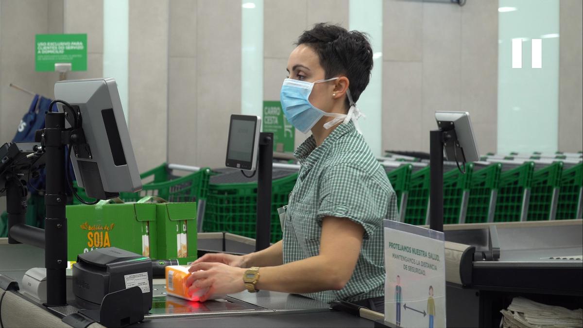 mercadona caja medida coronavirus